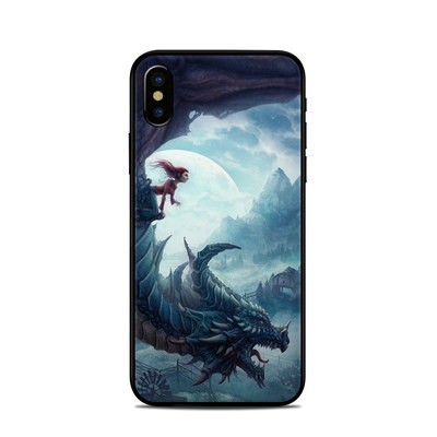 Apple iPhone X Skin - Flying Dragon