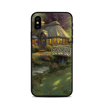 Apple iPhone X Skin - Friendship Cottage