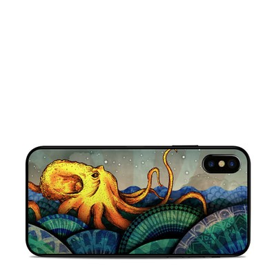 Apple iPhone X Skin - From the Deep