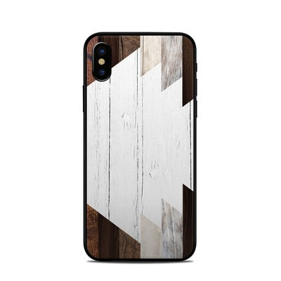 Apple iPhone X Skin - Geo Wood