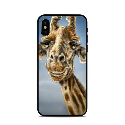 Apple iPhone X Skin - Giraffe Totem
