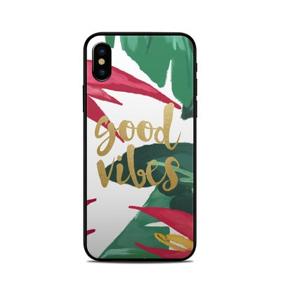 Apple iPhone X Skin - Good Vibes