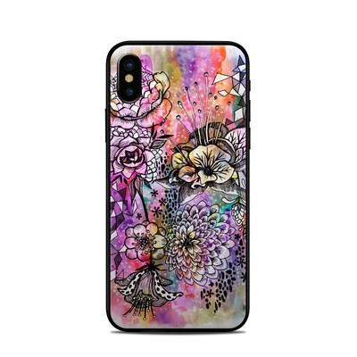 Apple iPhone X Skin - Hot House Flowers