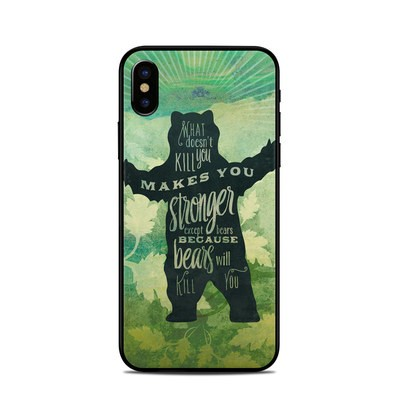 Apple iPhone X Skin - What Doesnt Kill You