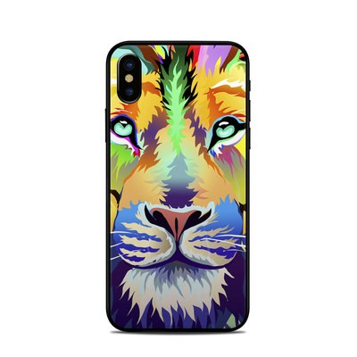 Apple iPhone X Skin - King of Technicolor