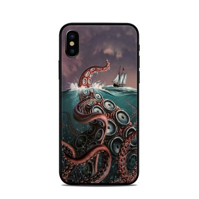 Apple iPhone X Skin - Kraken