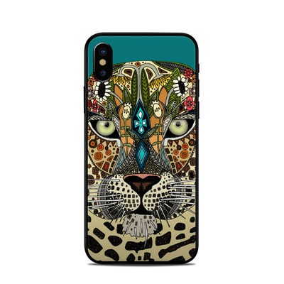Apple iPhone X Skin - Leopard Queen