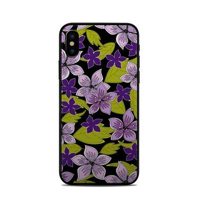 Apple iPhone X Skin - Lilac