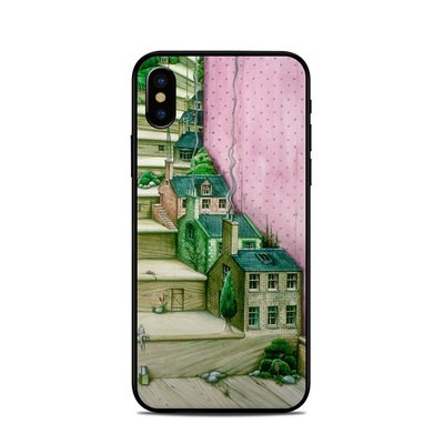 Apple iPhone X Skin - Living Stairs