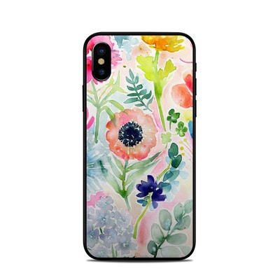 Apple iPhone X Skin - Loose Flowers