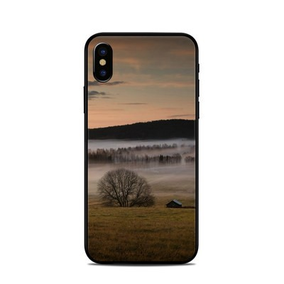 Apple iPhone X Skin - Misty Morning
