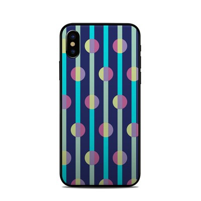 Apple iPhone X Skin - Mod Stripe