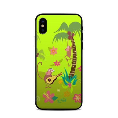 Apple iPhone X Skin - Monkey Melody