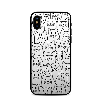 Apple iPhone X Skin - Moody Cats
