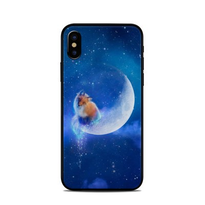 Apple iPhone X Skin - Moon Fox