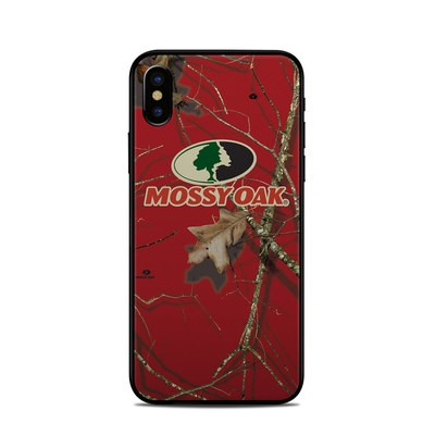 Apple iPhone X Skin - Break-Up Lifestyles Red Oak