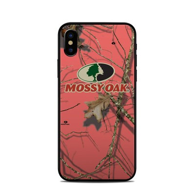 Apple iPhone X Skin - Break-Up Lifestyles Salmon