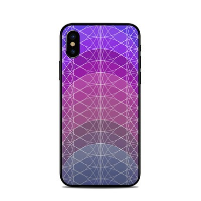 Apple iPhone X Skin - Mulberry