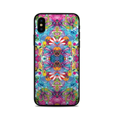 Apple iPhone X Skin - Multicolor World