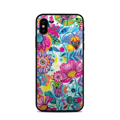 Apple iPhone X Skin - Natural Garden