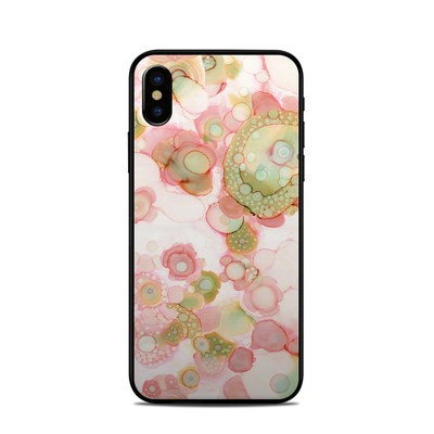 Apple iPhone X Skin - Organic In Pink