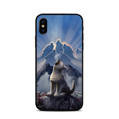 Apple iPhone X Skin - Leader of the Pack