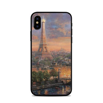 Apple iPhone X Skin - Paris City of Love
