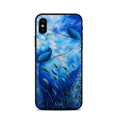 Apple iPhone X Skin - Paradise Peacocks