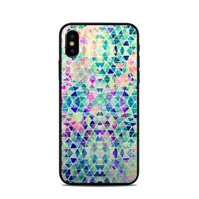 Apple iPhone X Skin - Pastel Triangle