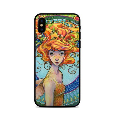 Apple iPhone X Skin - Portrait Mermaid