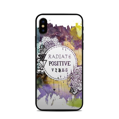 Apple iPhone X Skin - Radiate
