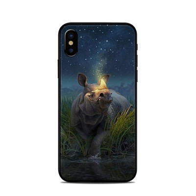 Apple iPhone X Skin - Rhinoceros Unicornis