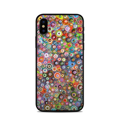 Apple iPhone X Skin - Round and Round