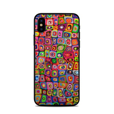 Apple iPhone X Skin - Square Dancing