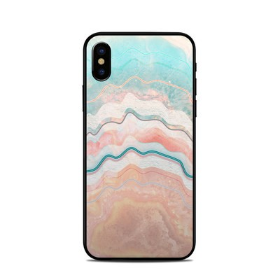 Apple iPhone X Skin - Spring Oyster