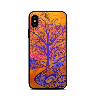 Apple iPhone X Skin - Sunset Park