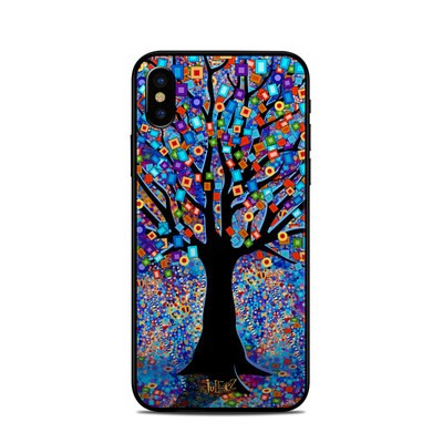 Apple iPhone X Skin - Tree Carnival