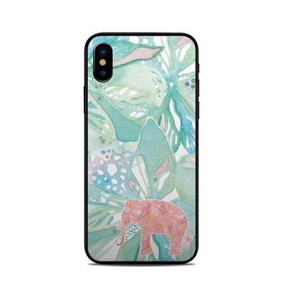Apple iPhone X Skin - Tropical Elephant