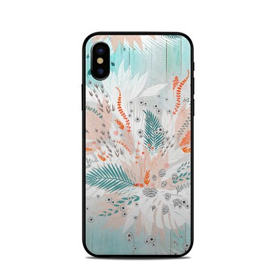 Apple iPhone X Skin - Tropical Fern