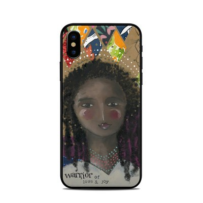 Apple iPhone X Skin - Warrior of Love