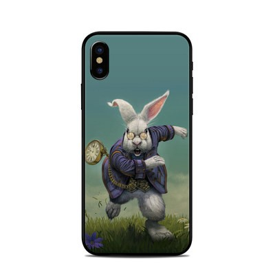 Apple iPhone X Skin - White Rabbit