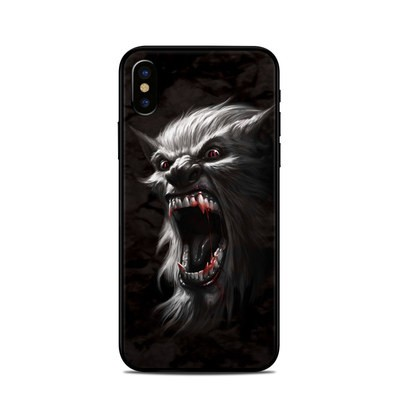 Apple iPhone X Skin - Wolfman