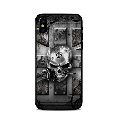 Apple iPhone X Skin - Wrought Iron