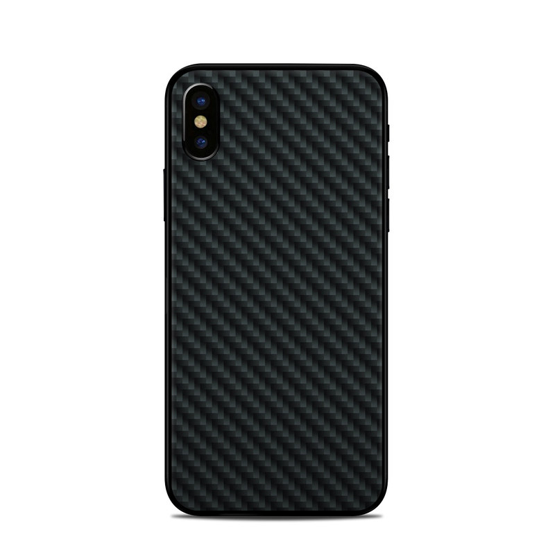 huge discount ff8b6 639db Apple iPhone X Skin - Carbon by DecalGirl Collective