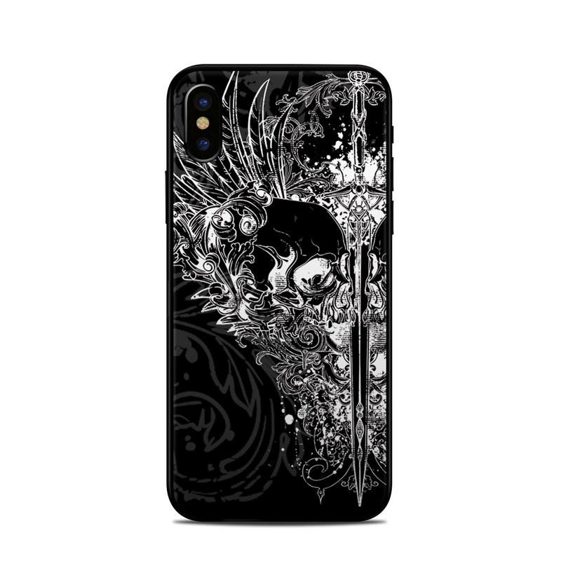 reputable site d425b 86693 Apple iPhone X Skin - Darkside