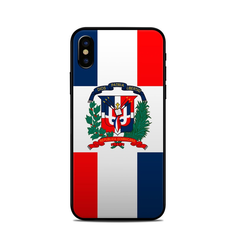 Apple Iphone X Skin Dominican Republic Flag By Flags Decalgirl