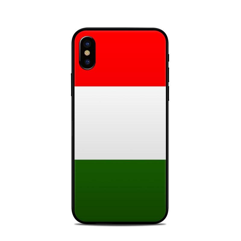 Italian Flag: Apple IPhone X Skin - Italian Flag By Flags