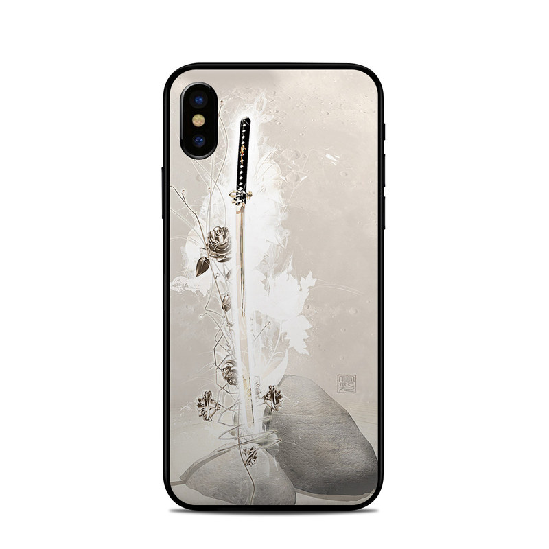 half off 076ba 68120 Apple iPhone X Skin - Katana Gold