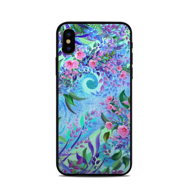super popular 533e8 1236e Apple iPhone X Skin - Lavender Flowers