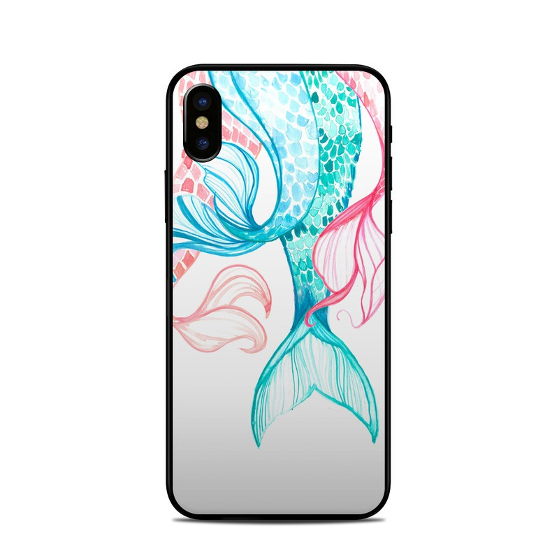 newest 6aec6 0eb40 Apple iPhone X Skin - Mermaid Tails